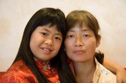 Fadu mit Mama
